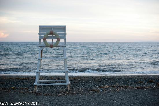Kuting Reef: Beach area