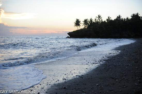 Kuting Reef: Beach