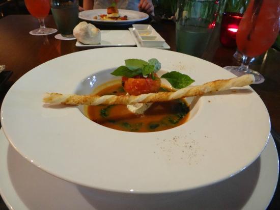 Red Snapper Restaurant & Bar: Gazpacho