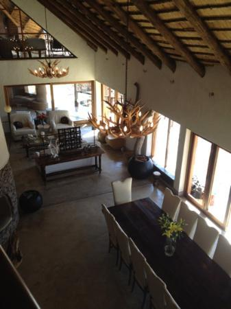 Royal Madikwe Luxury Safari Lodge: The stunning main lodge!