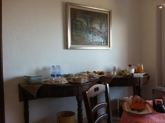 Bed and Breakfast Elisabeth : Colazione stupenda