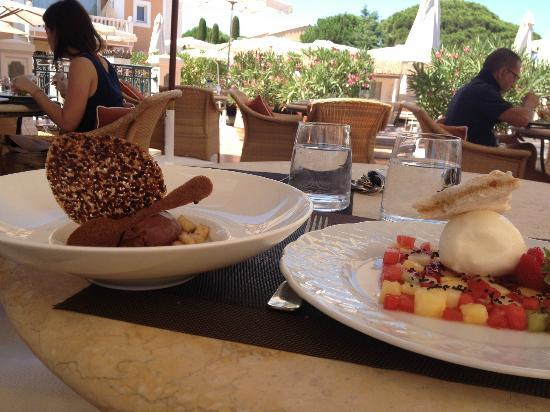 شاتو دو لا ميساردير: dessert 