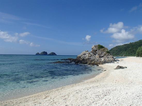 Kushibaru Beach: 誰もいない海岸