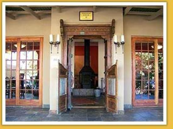 African Roots Guest House: Main Entrance