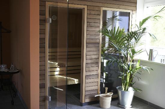 Servus Europa am Walserberg Sud: Sauna