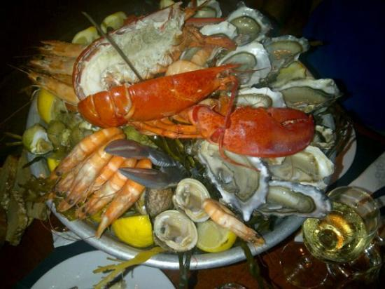 Oyster Cafe: coquillage e crostacei
