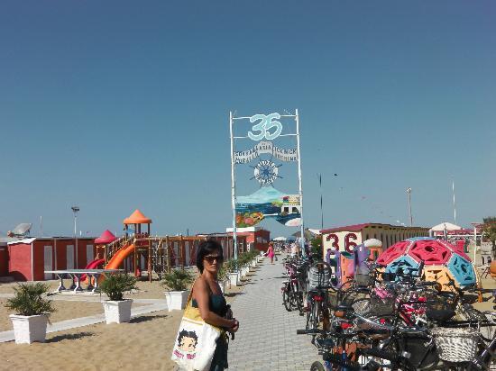 Bagno 35 - Foto di Hotel Sovrana, Rimini - TripAdvisor