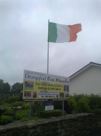 Derryglad Folk & Heritage Museum: entrance