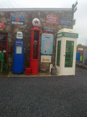 Derryglad Folk & Heritage Museum: phone boxes