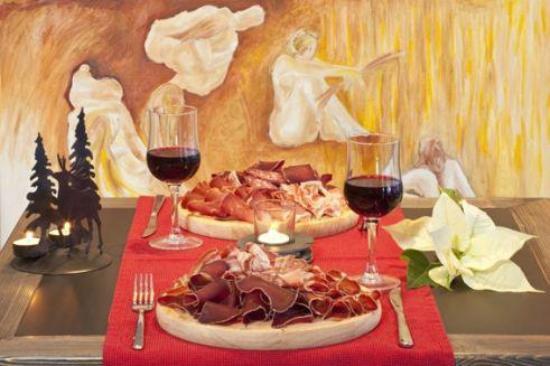 Hotel Restaurant L'Escale : L'assiette valaisanne
