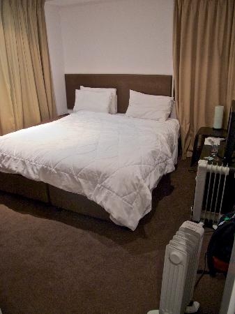 "The Chatham Auckland : Bedroom ""serviced"" when I returned from the city"