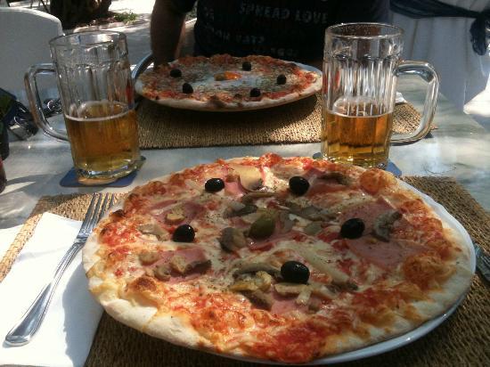 Hotel Oliva: pizza