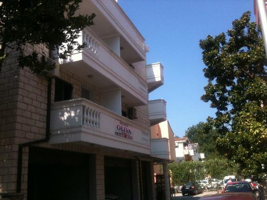 Hotel Oliva: hotel fasade