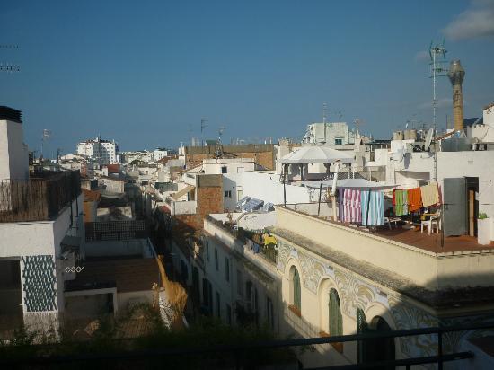 Hotel Galeon: vue de la terrasse