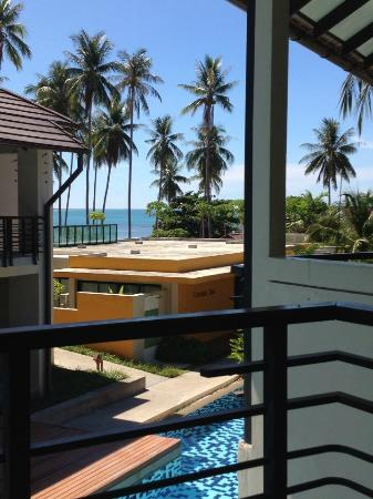 Centra by Centara Coconut Beach Resort Samui: view from our room 214