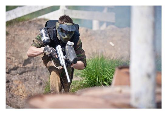 Holmbush Paintball: Tactical advance