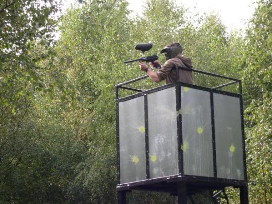 Holmbush Paintball: Tower Seige