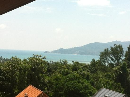 Baan Yuree Resort  and  Spa: view from our balcony