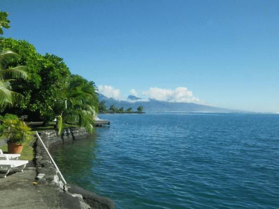 Pueu Village: La piscine naturelle