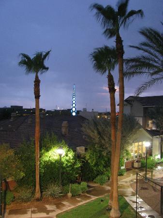 Residence Inn Scottsdale North: spire as seen from room