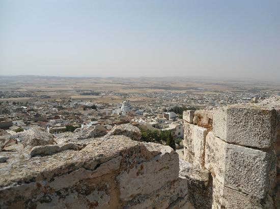 Dar Boumakhlouf : El Kef - Panorama vu depuis la Kasbah