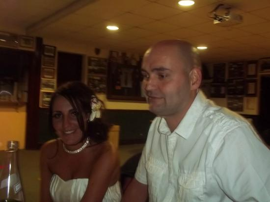 Keswick Rugby Football Club: Bride & Groom