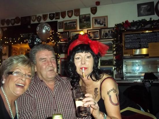 """Keswick Rugby Football Club: Brenda, Sam & """"Amy""""!"""