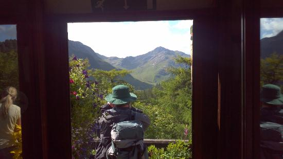 Distant Hills Guest House: amazing scenery