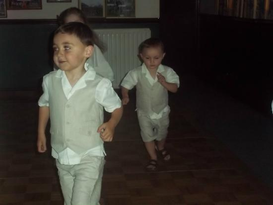 Keswick Rugby Football Club: Pageboys Jack & Paddy - bless!