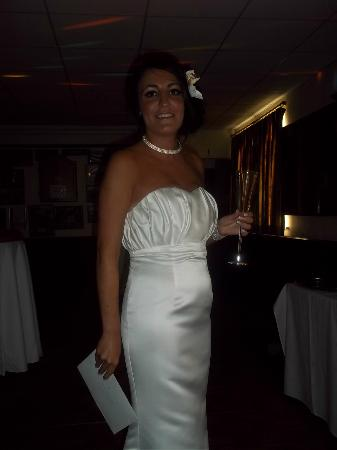 Keswick Rugby Football Club: Laura - beautiful bride!