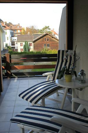 Torkelbundte Hotel Garni: Balkon Zimmer