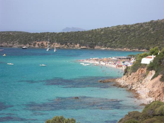 Spiaggia di Tuerredda: panorama 2