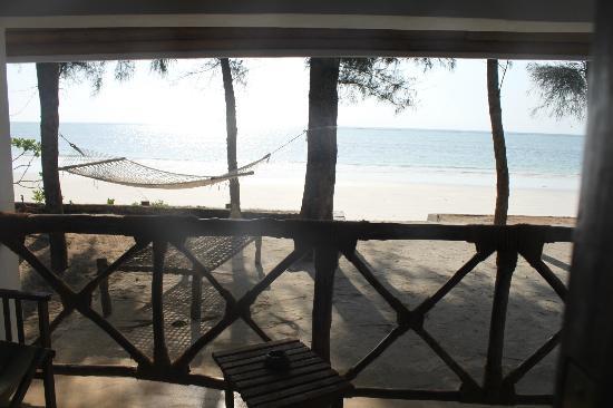 View from our bedroom door.