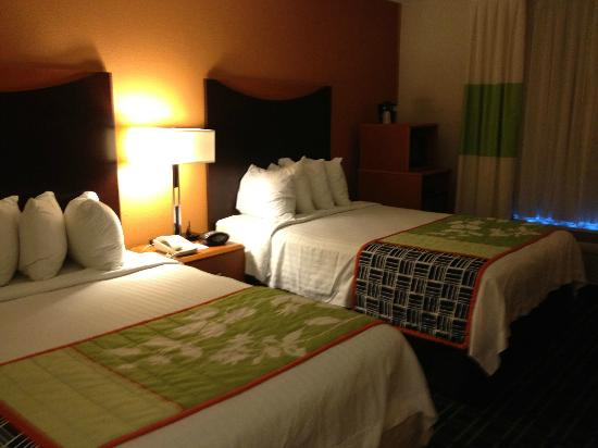Fairfield Inn & Suites Beckley: room