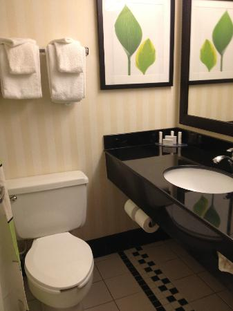 Fairfield Inn & Suites Beckley: bath
