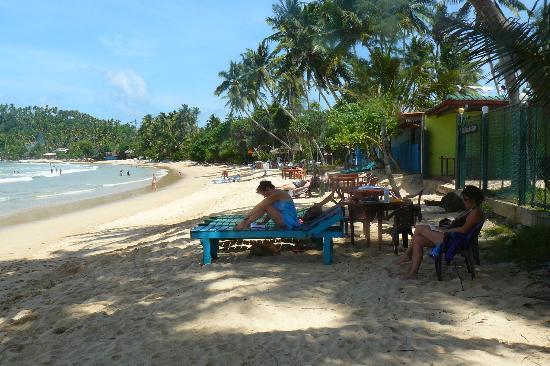 Sun Shine Beach Inn : ACCES DIRECT SUR LA PLAGE