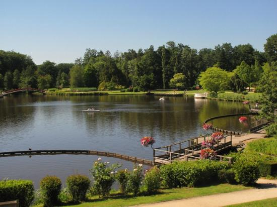 La Potinière du Lac : View from our room window