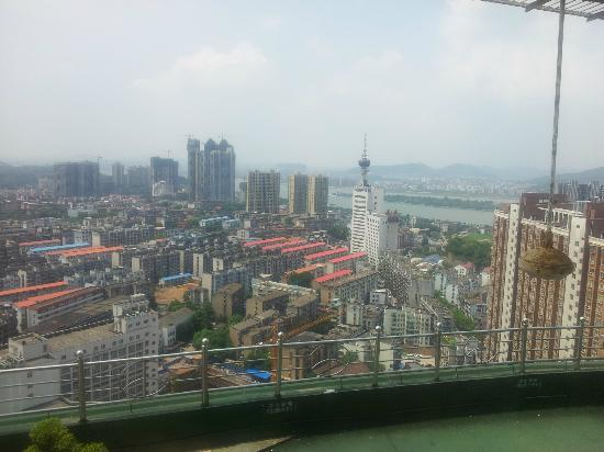 Hunan Bestride Hotel: View from 32nd floor