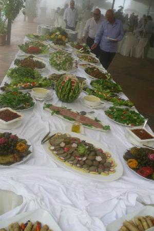 Faitroun, Libanon: Buffet