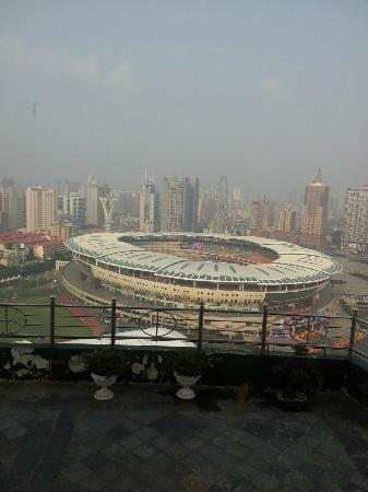 Hunan Bestride Hotel: View from 32nd floor (2)