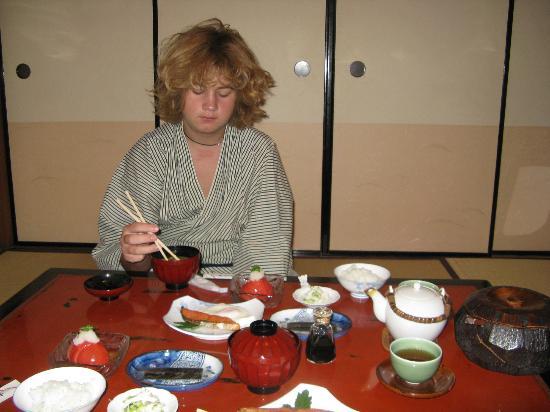 Inn Kawashima: Breakfast
