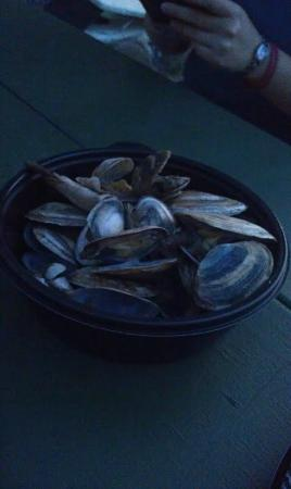 Steamers from Sunset Tiki Bar