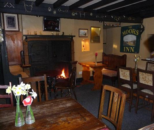 The Moors Inn: In the bar