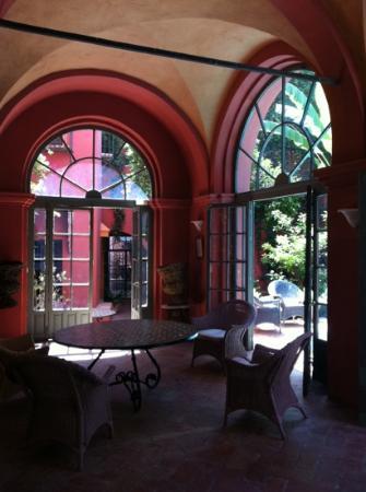 Casa Palacio de Carmona: Jardin d'hiver