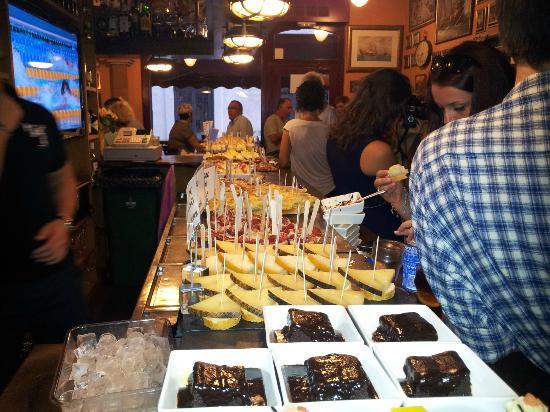 EL GALEO: Choix de tapas...