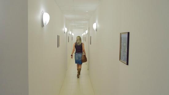 Gagarin Hostel: Corridor to 14 Dormitory Rooms