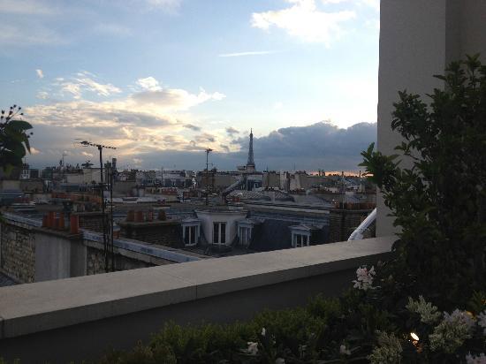 Mandarin Oriental, Paris: terrasse suite impériale