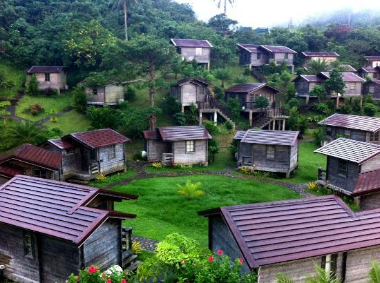 Gota Village Resort: cabanas