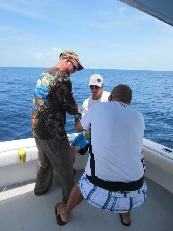 Key West Fishing Connection - Private Charters: Don't give up!!!