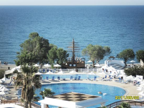 Louis Creta Princess Beach Hotel: widok z pokoju